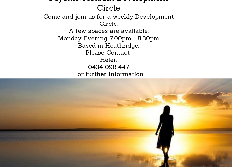 Psychic/Medium Circle Group